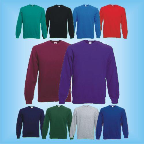 Heavy Cotton T Shirt Fruit of the Loom S M L XL XXL 3XL
