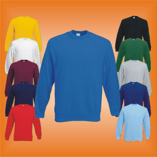 Set-In-Sweatshirt-Fruit-of-the-Loom-Pullover-S-XXXL